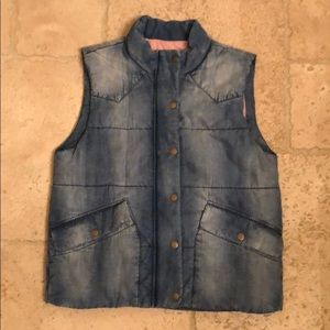 Cloth and Stone Denim Vest from Anthropologie.